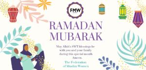Ramadan Mubarak from the FMW!
